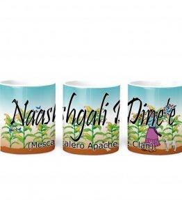 mescalero apache w Turq BG 11 oz mug