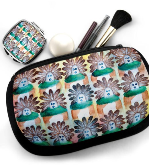 15 in the Beginning Cosmetic Bag w Compact