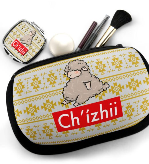 Chizhii Cosmetic Bag w Compact