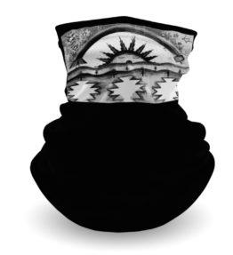 """""""Morning Blessings"""" Navajo Art on Gaiter Face Covering"""