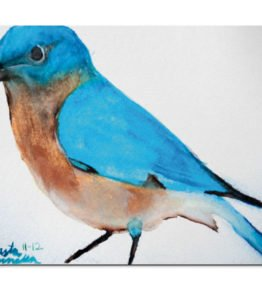 """Blue Bird"" Navajo Art on Mouse Pad"