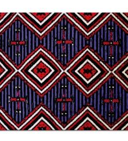 """Chiefs Rug"" Navajo Art on Mouse Pad"