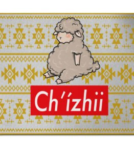 """""""Chi'zhii"""" Navajo Art on Mouse Pad"""
