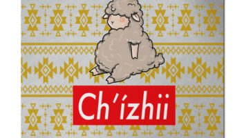 """Chi'zhii"" Navajo Art on Mouse Pad"
