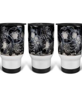 """Ascension"" Navajo Art on 14 Ounce Travel Mug"