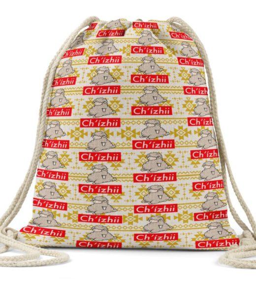 Chizhii Linen Drawstring Bag