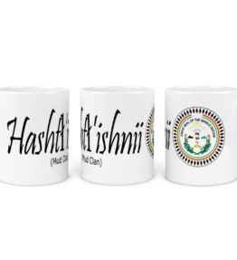 """Hashtl'ishnii (Mud Clan)"" Navajo Clan 11 Oz Mug with NN Seal Background"
