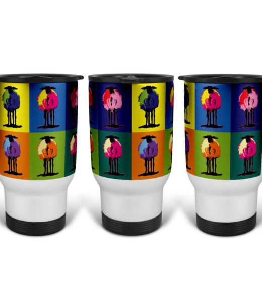 Pop Art 2 Travel Mug