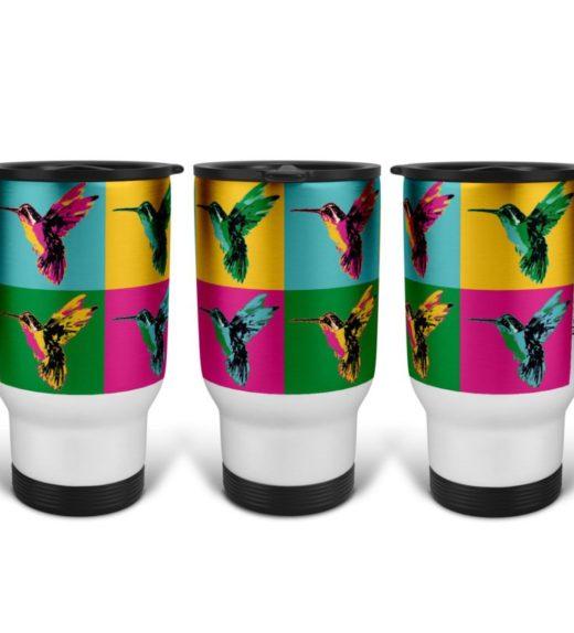 Pop Art 3 Travel Mug