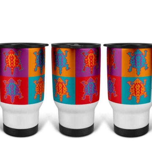Pop Art 4 Travel Mug